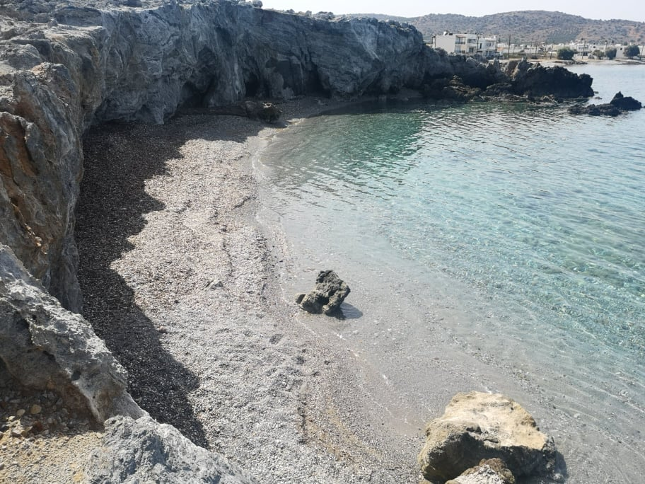 Seaside building plot in Milatos, Crete