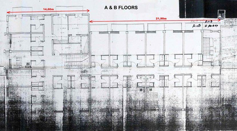 A & B floors