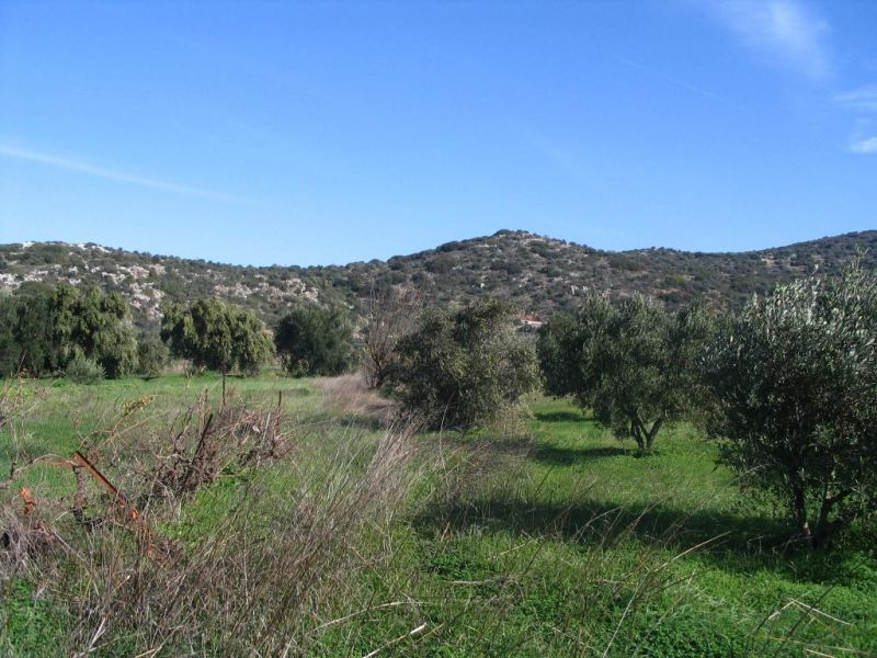334sq meter plot of building land, beautiful countryside. 5 minutes drive to beaches