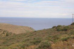View of the Cretan sea
