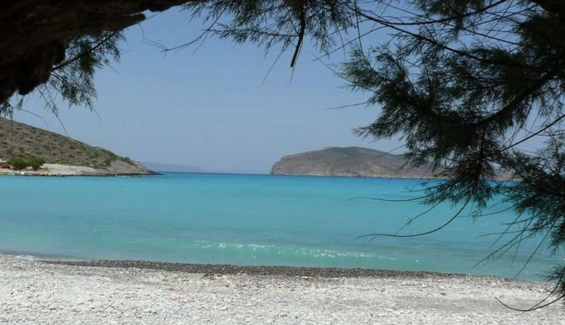 Nearby beach of Tholos