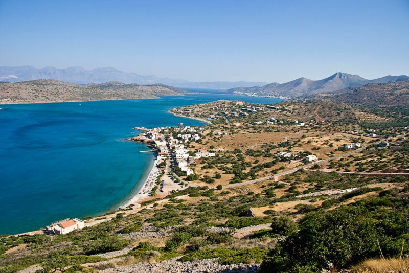 13 adjoining plots of land with amazing views of Spinalonga and Elounda bay
