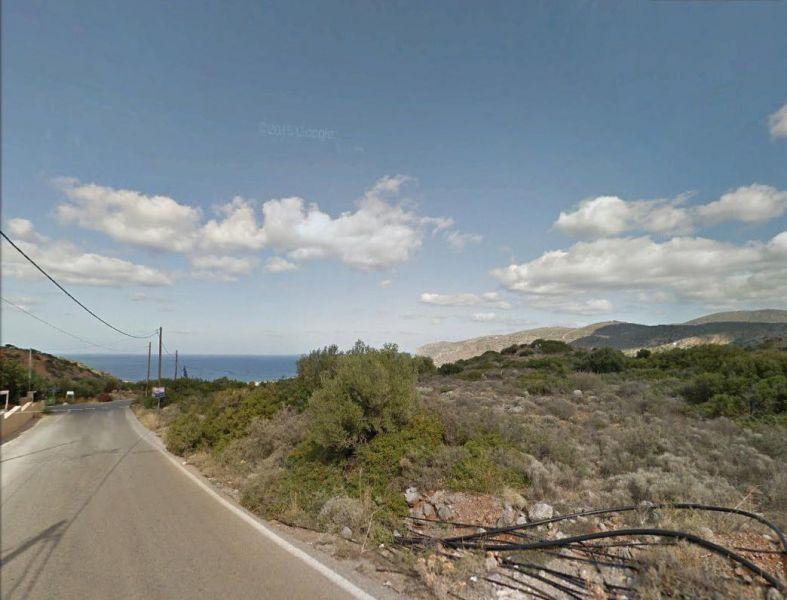 Seaview building land (5272 m2) between Sissi and Milatos