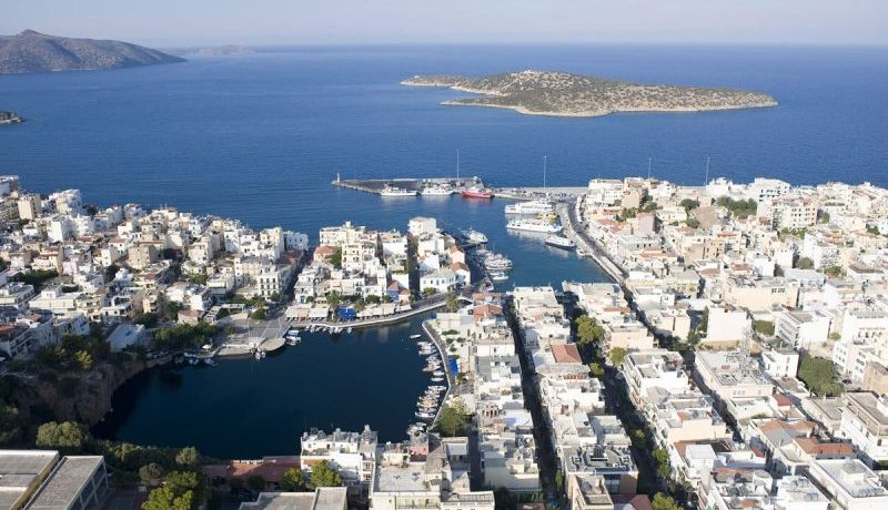 The nearby province capital Agios Nikolaos