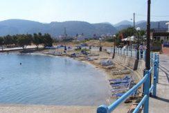 The coastal village of Milatos Beach