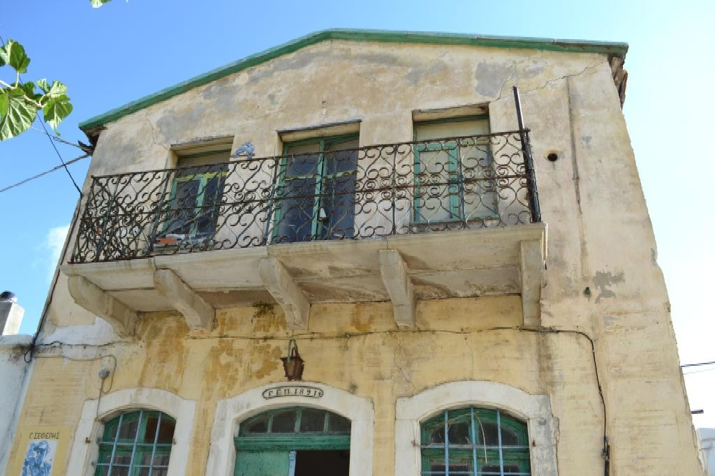 Beautiful old stone house EST.1891 for renovation in traditional Cretan village.