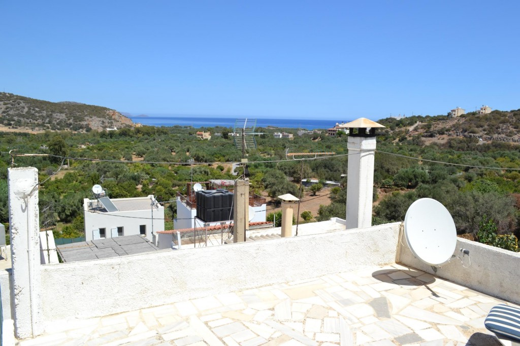 Traditional village home, with roof terrace and great sea views.