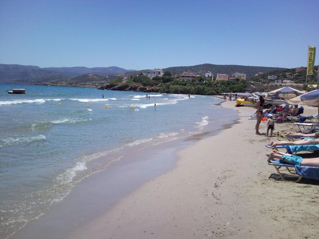Seaview building land near Agios Nikolaos