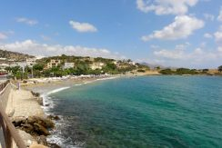 Nearby sandy beach of Ammoudara