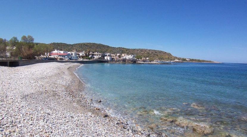 Pebble beach in Milatos