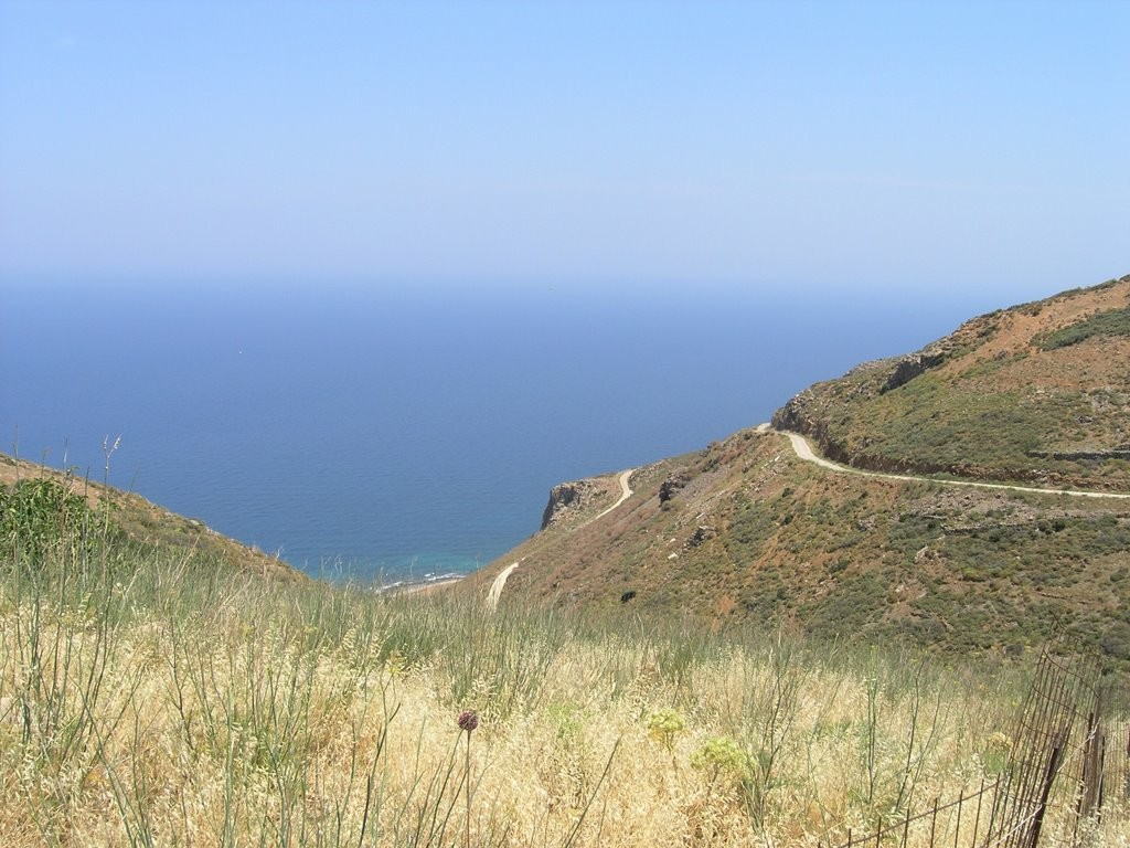 Seaview building plot within village zone, North-East Crete