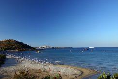 One of the nearest beaches (in Agios Nikolaos)