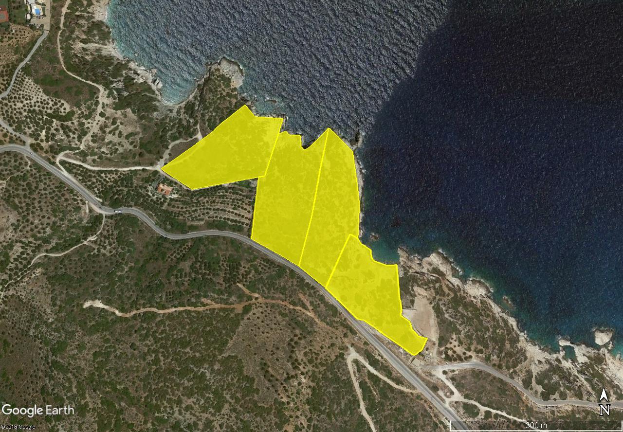Seafront land of 60,170 m2, 540m shoreline, suitable for hotel development