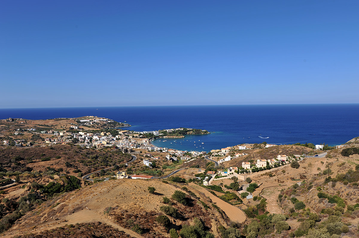 7 plots of seaview building land in Agia Pelagia, Heraklion, 21,890 m2 in total