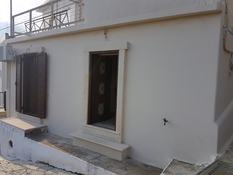 2 bedroom house in traditional village.