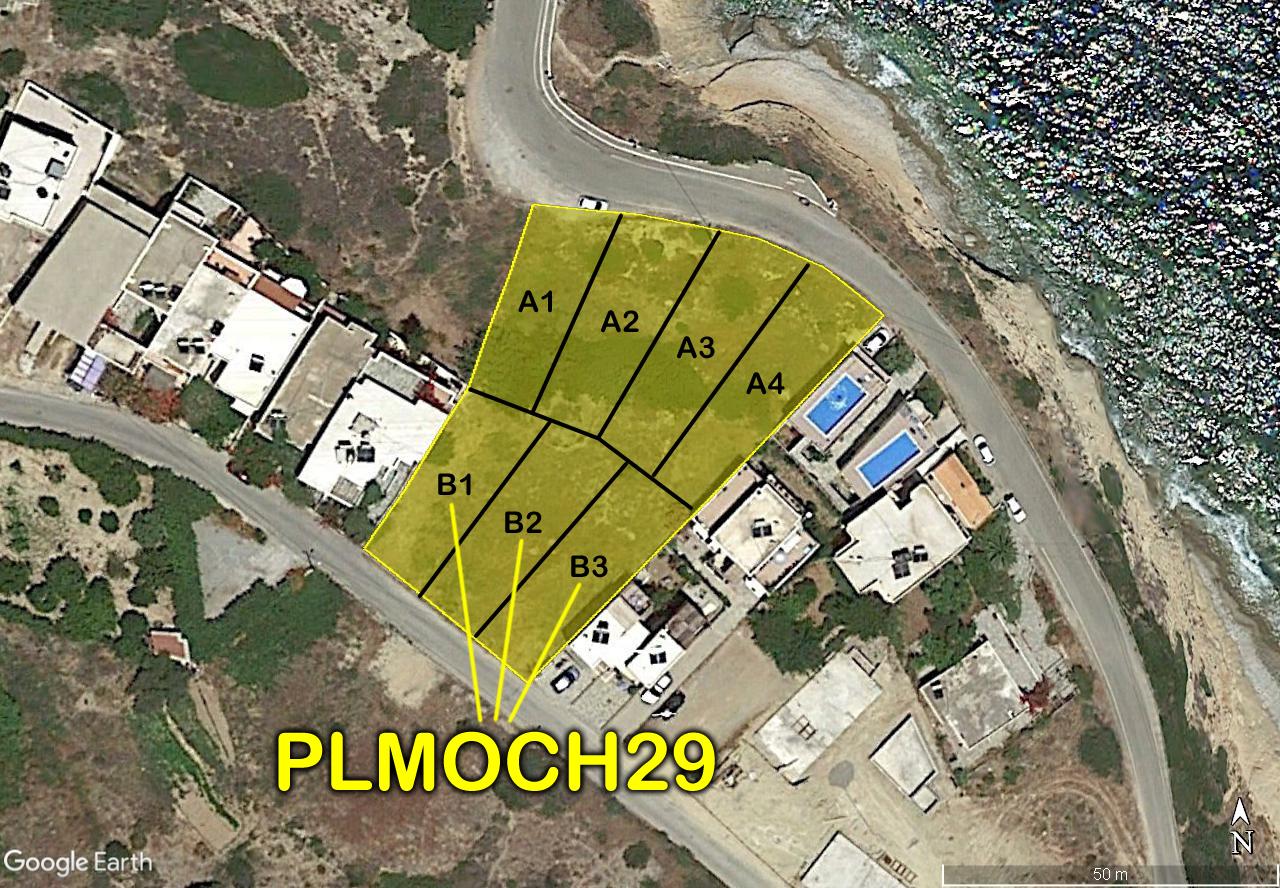 Seaside building plots in Mochlos, Crete