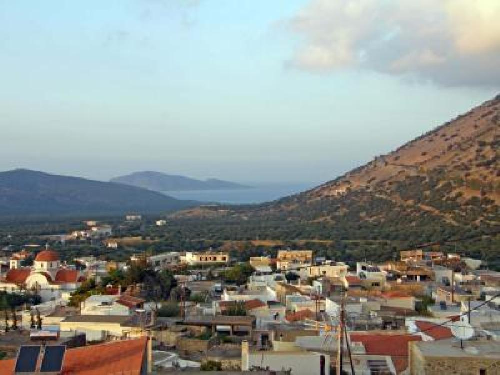 Seaview building plot, 550 m2, in Kavousi, Crete
