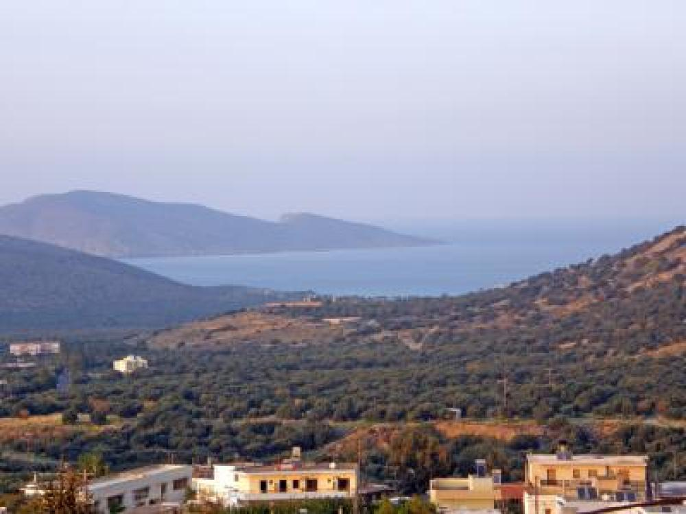 Seaview building plot, 670 m2, in Kavousi, Crete