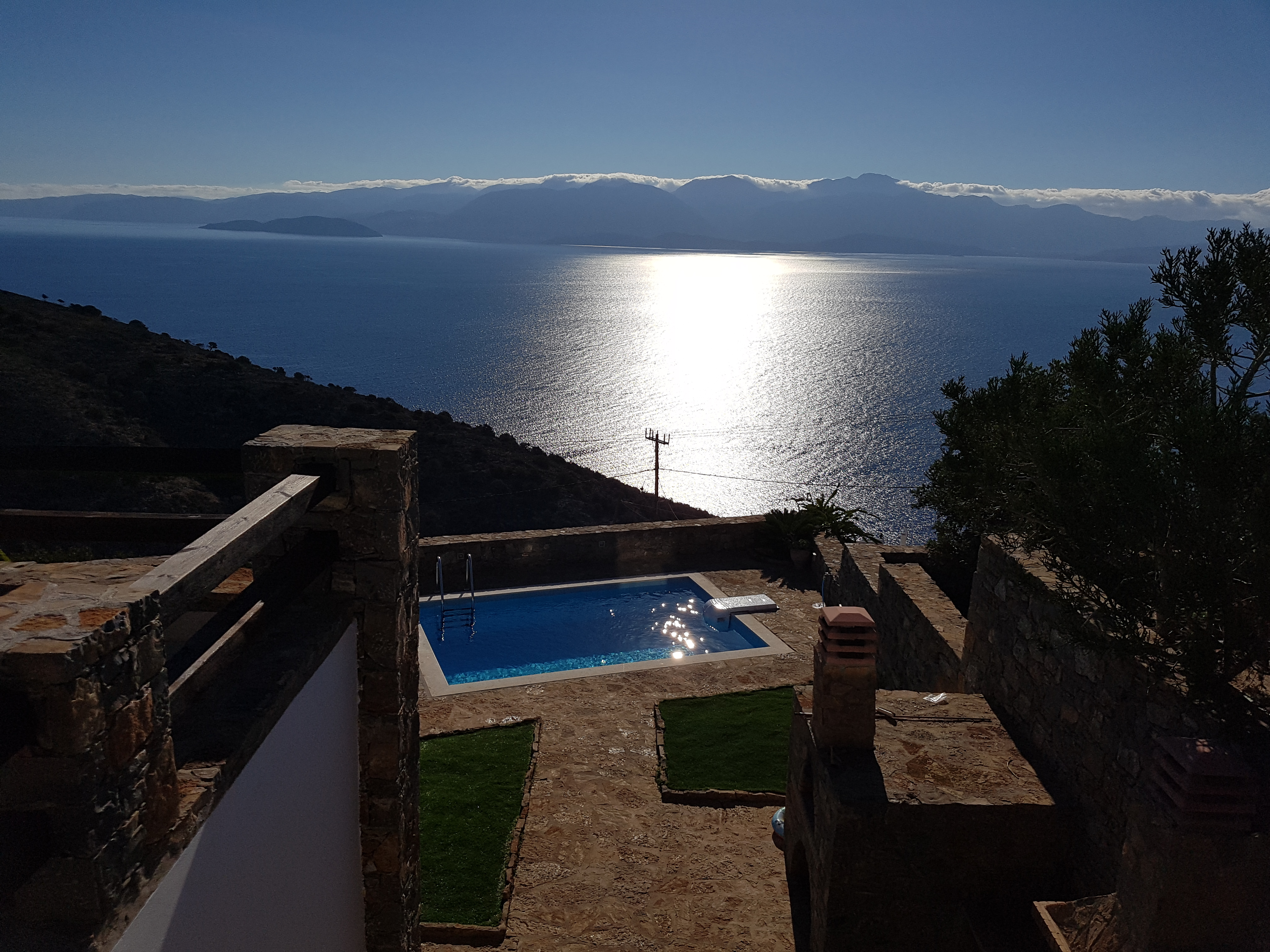 4 bedroom villa with pool and Sea Views in desired location. Crete