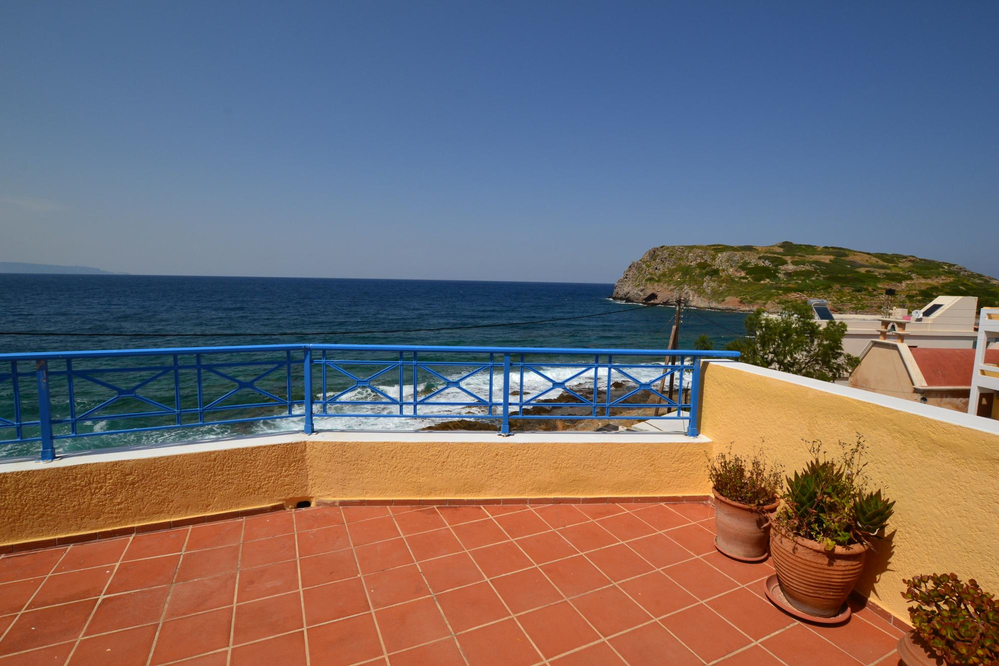 Large sea front house in lovely seaside resort.