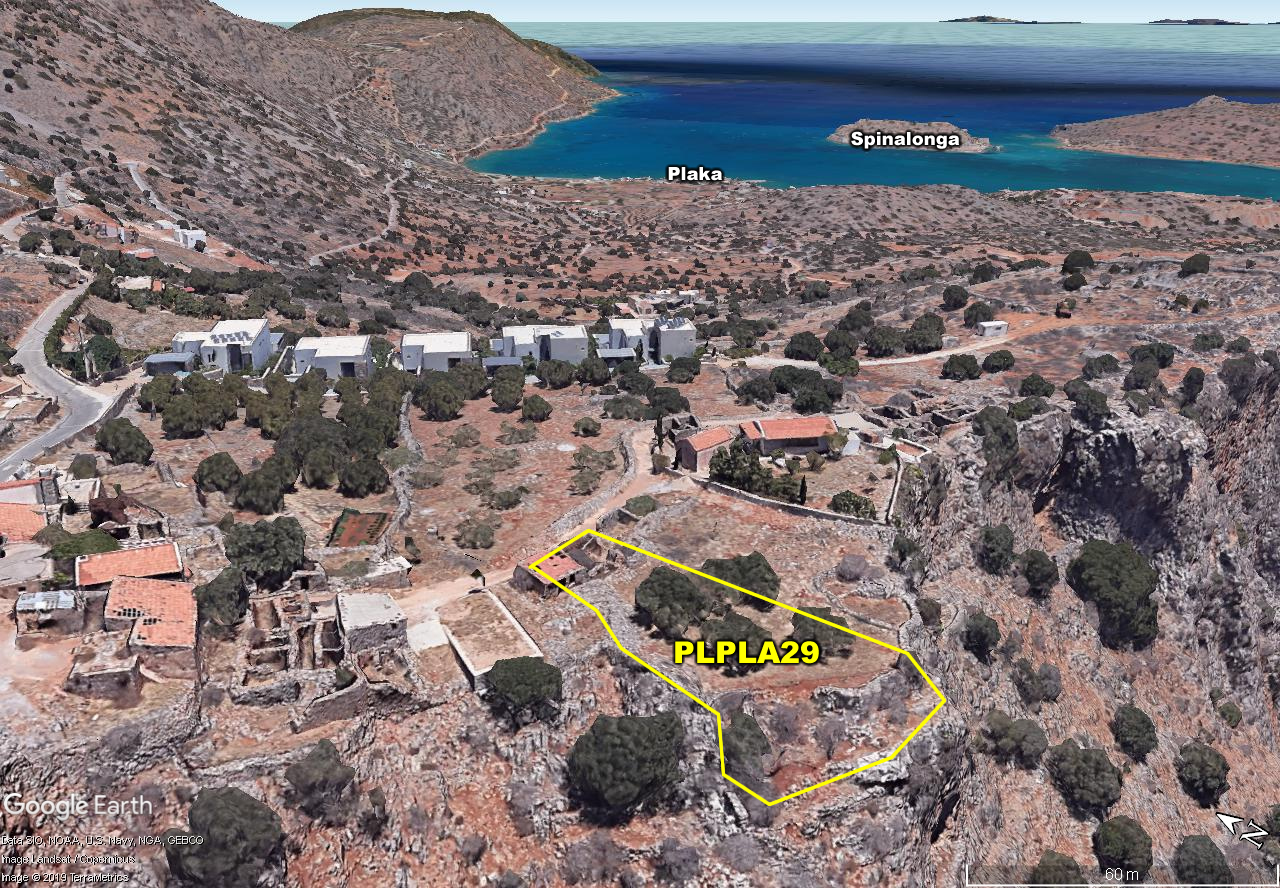 Building plot of 573 m2 in prime development area