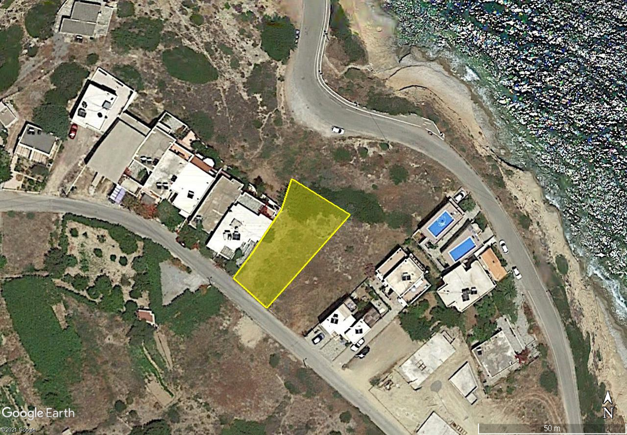 Seafront building plots of 1000 m2 in Mochlos, Crete