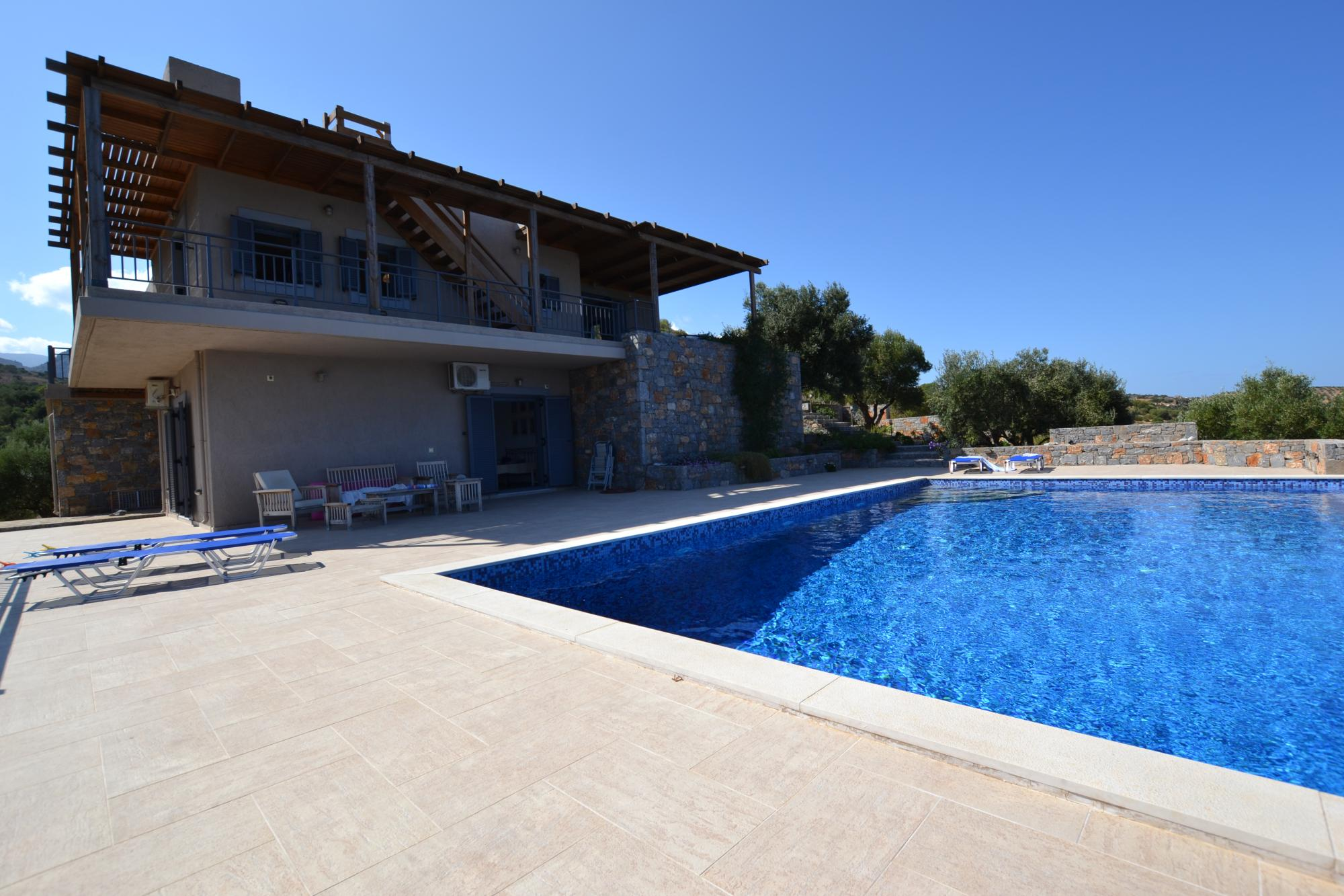 A beautifully located four bedroom villa with spectacular views