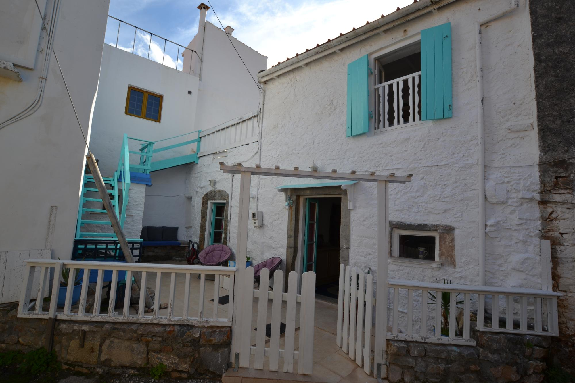 2 bedroom renovated stone house with terrace and front yard.