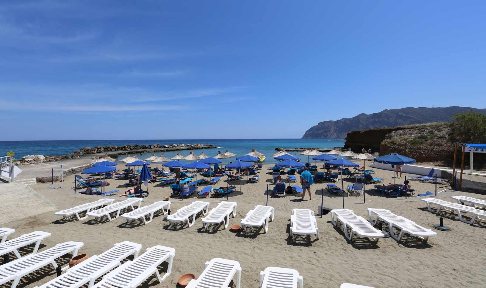 Seaside building plot with sea views, Mochlos, Crete