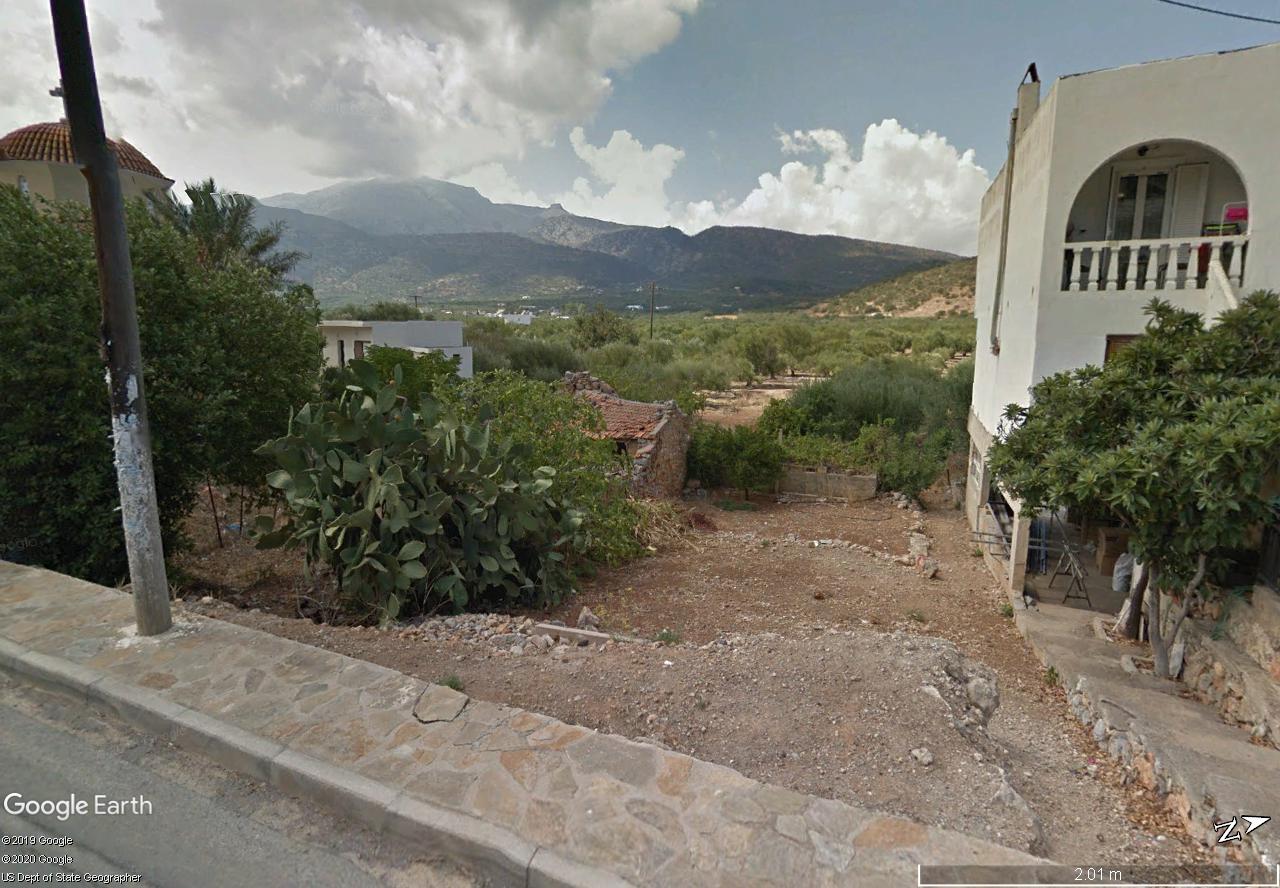 Building plot of 1152m2 in quiet village near Agios Nikolaos
