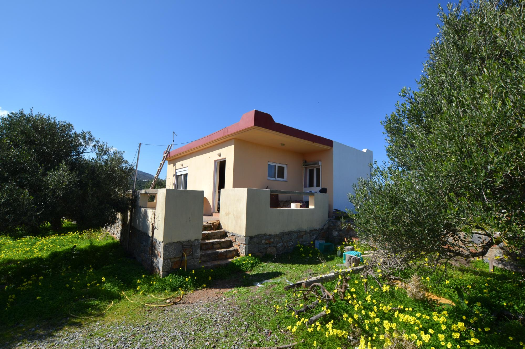2 bedroom village farm house with big Olive grove. Remote, quiet property.