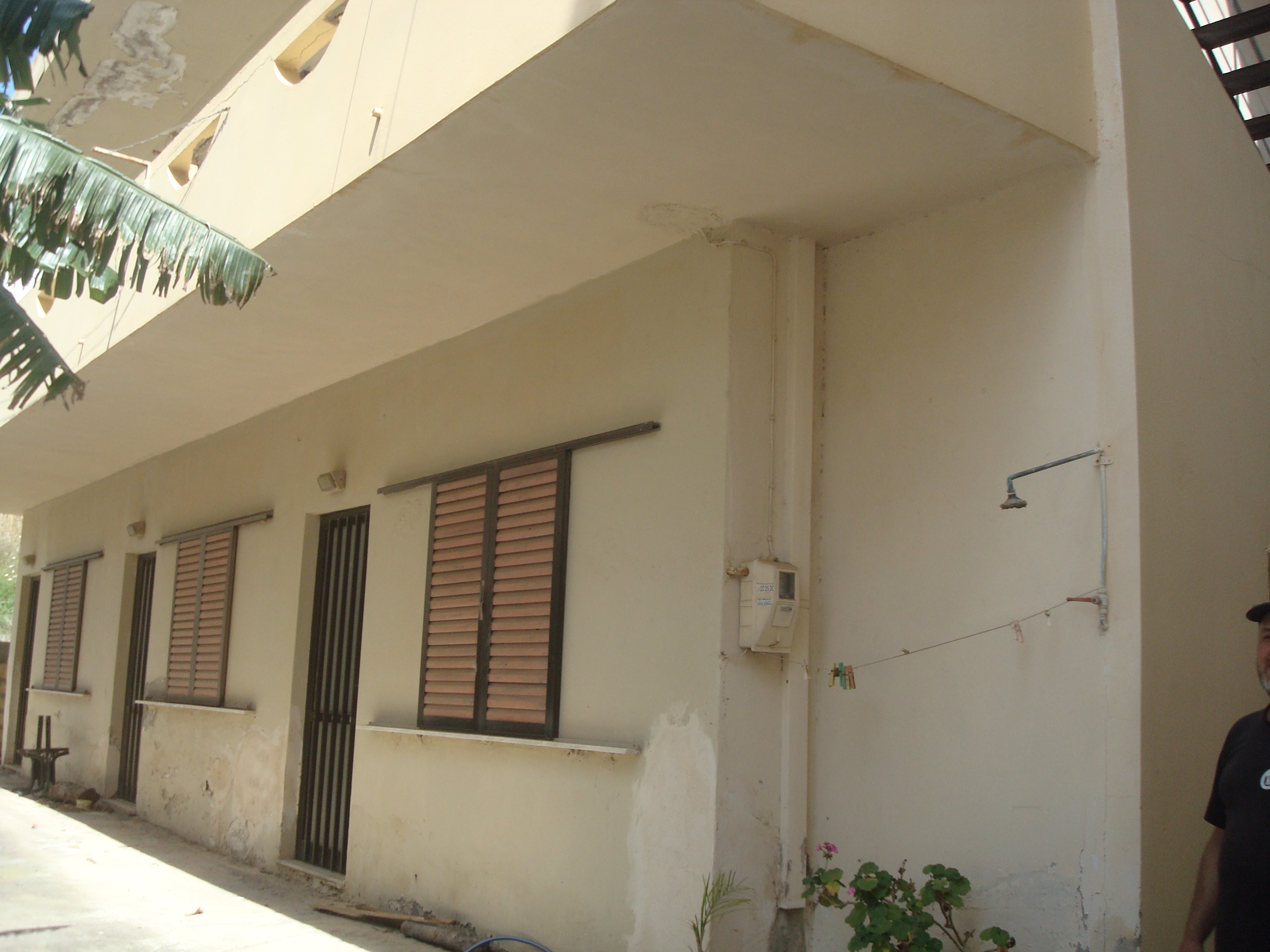 Two-storey building, thirty meters from the beach of Agia Pelagia, right in the center of the village.