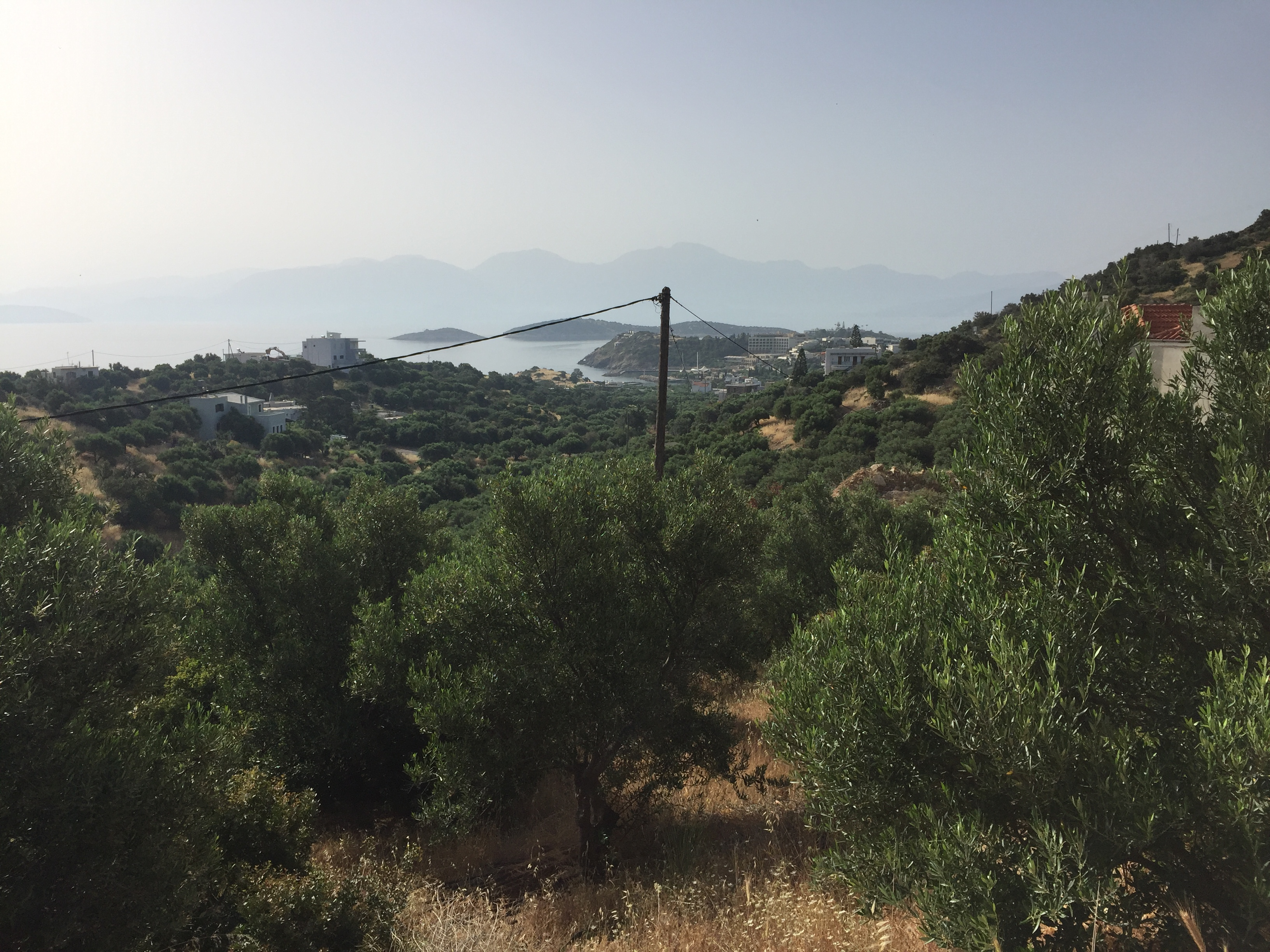Seaview building land, Agios Nikolaos, Crete