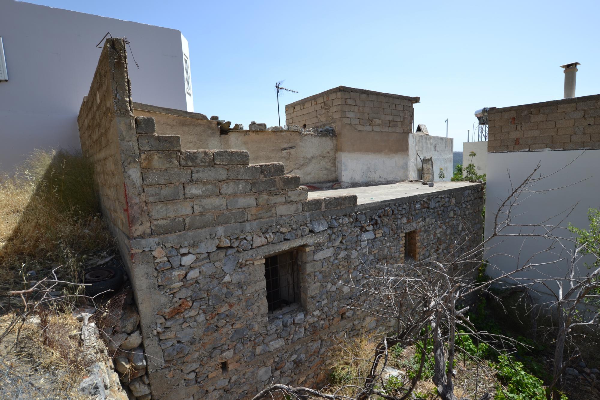 House for renovation near village centre. Kritsa