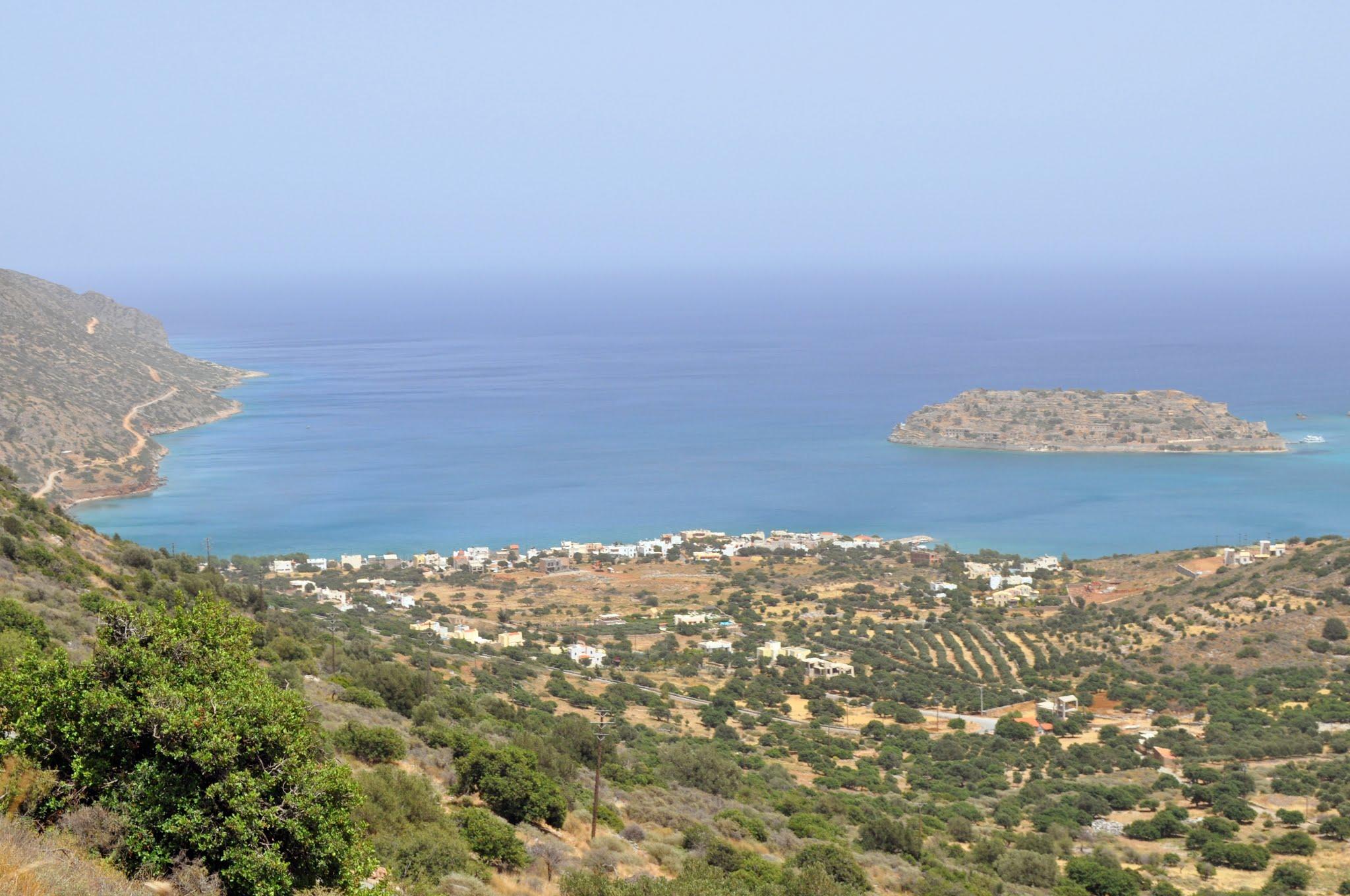 Building land with panoramic views of Spinalonga and Elounda Bay
