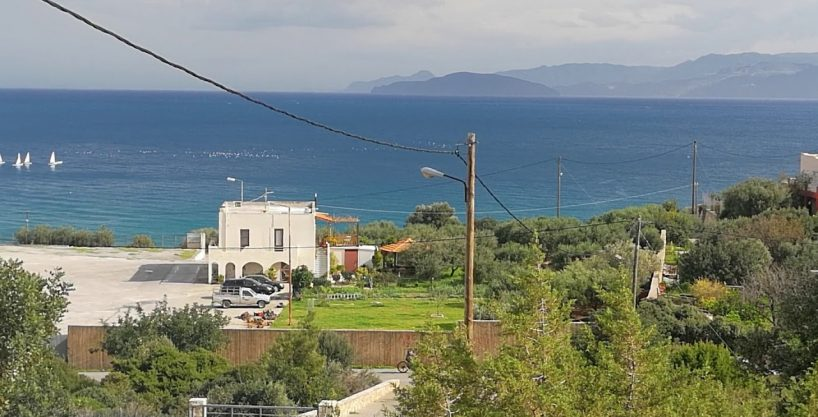 Seaview building plot near Agios Nikolaos and sandy beaches