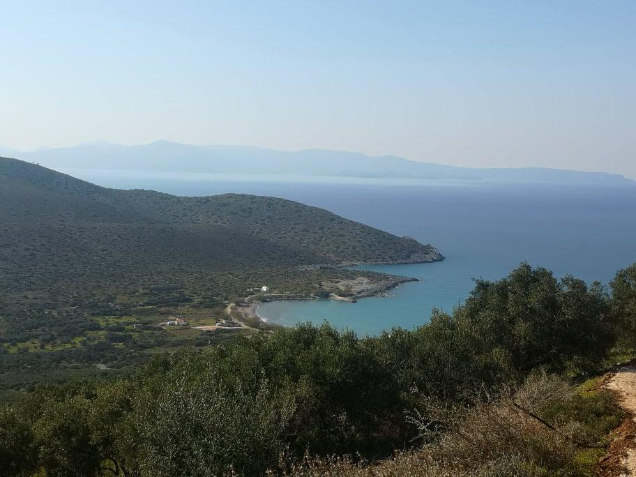 Seaview building land in Kavousi / Tholos, Crete