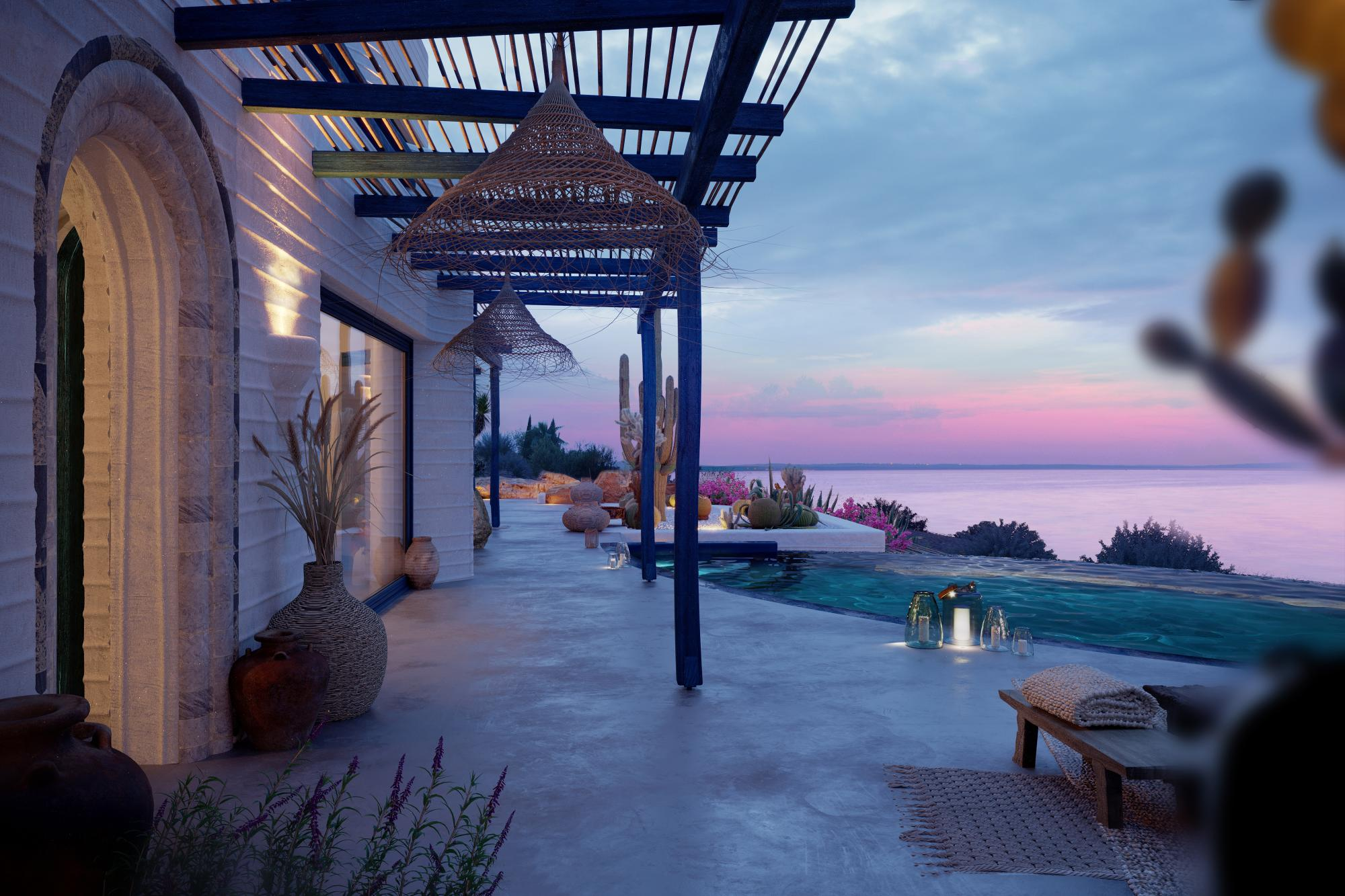 Luxury 4 bedroom residence, with amazing Seaview.