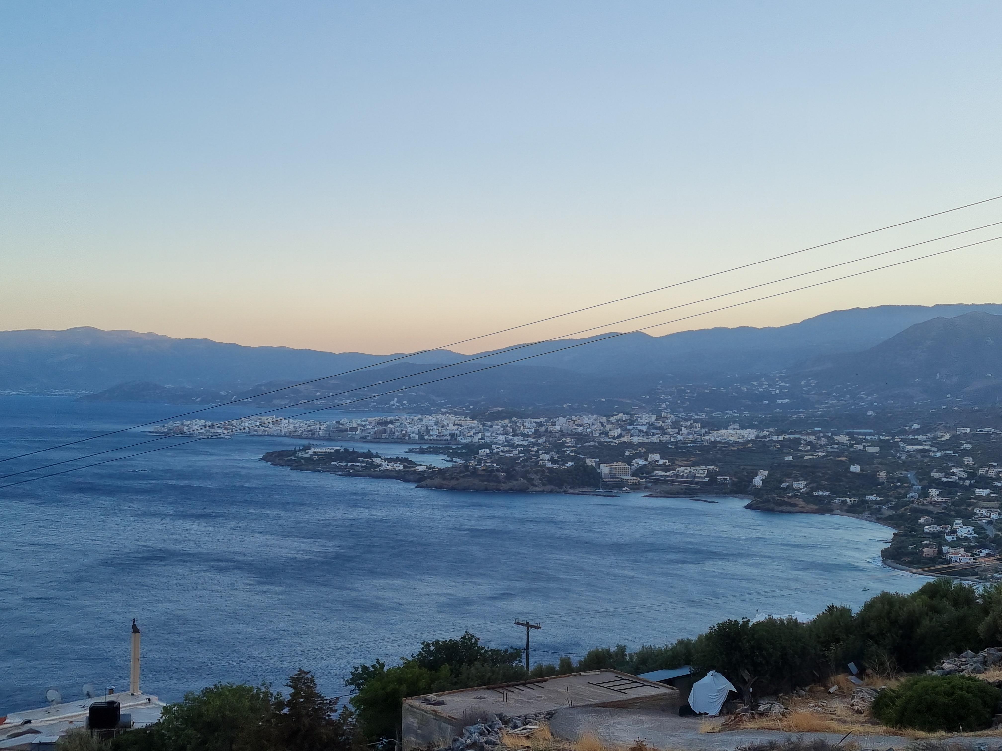 Panoranic seaview plot, Agios Nikolaos