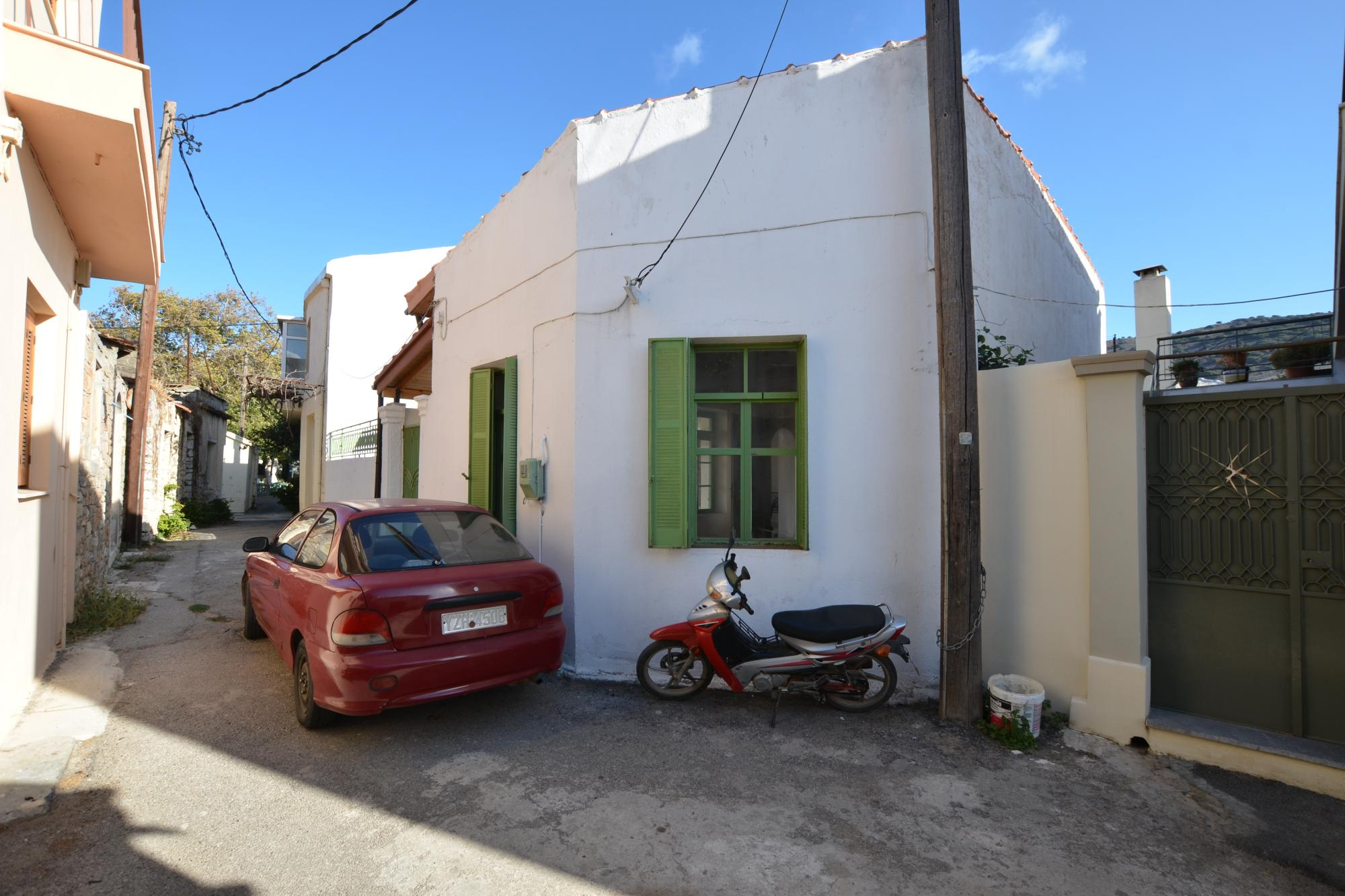 2 bedroom house with nice courtyard in traditional village.